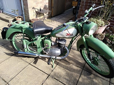 Lot 134 - 1952 BSA Bantam D1