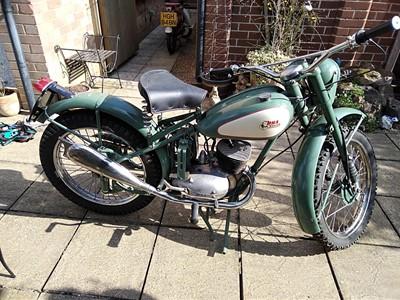 Lot 127 - c.1960 BSA Bantam D1 Trials Rep