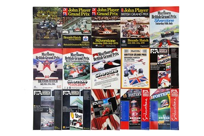 Lot 67 - Twenty-Five British / European Grand Prix Souvenir Programmes