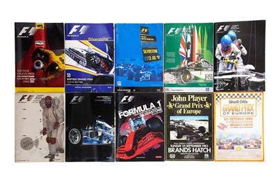 Lot 67 - Twenty-Five British / European Grand Prix Souvenir Programmes