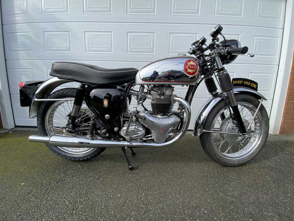 Lot 1964 BSA Rocket Gold Star