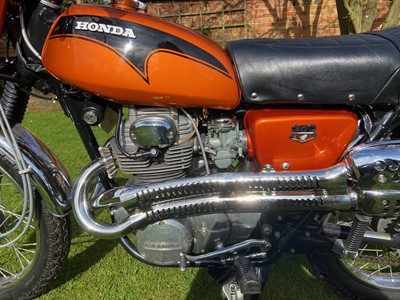 Lot 1971 Honda CL350