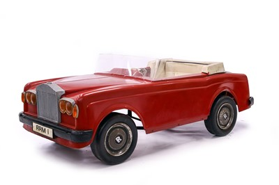 Lot 79 - Rolls-Royce Corniche Electric Childs Car by Triang
