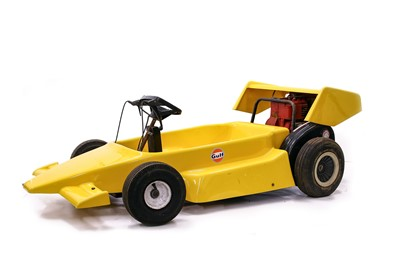 Lot 83 - F1-Style Childs Go Kart, c1980s
