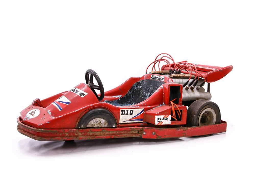 Lot 84 - F1-Style Childs Go Kart, c1980s