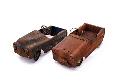 Lot 85 - Two Pedal Cars Requiring Full Restoration