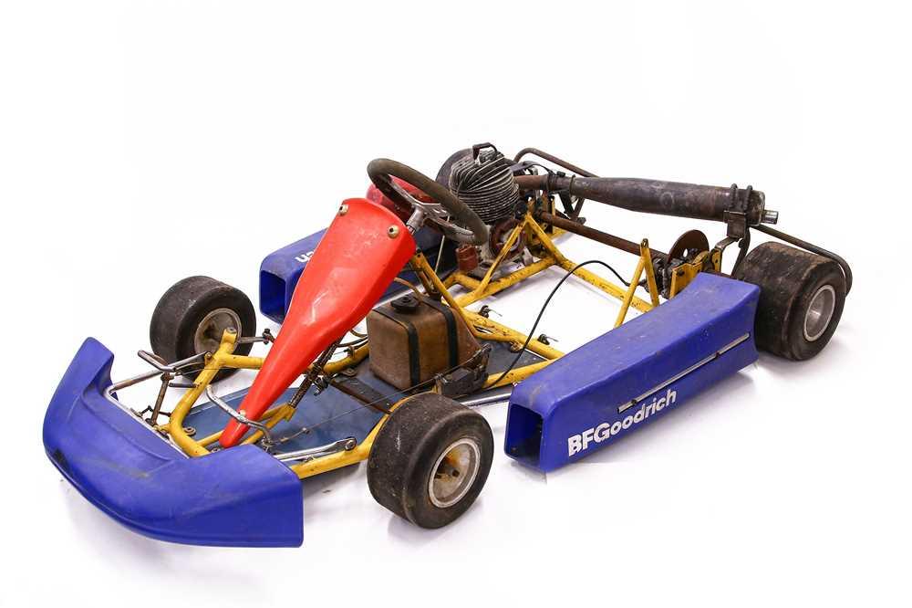Lot 89 - A 2-Stroke Racing Go Kart