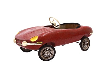 Lot 97 - Jaguar E-type Pedal Car by Triang