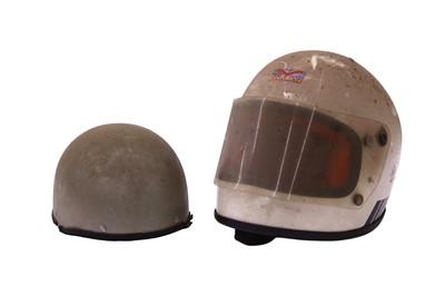 Lot 99 - Two Crash Helmets