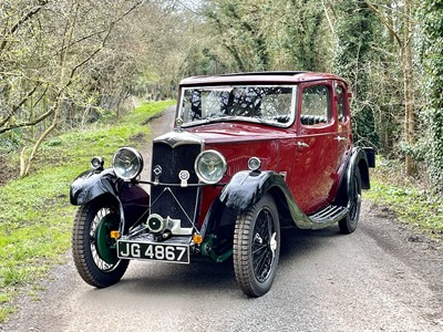 Lot 11 - 1934 Riley 9 'Monaco'
