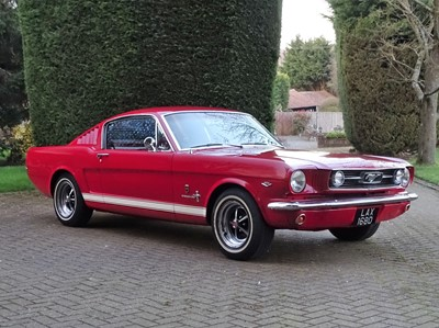 Lot 1966 Ford Mustang 289 Fastback