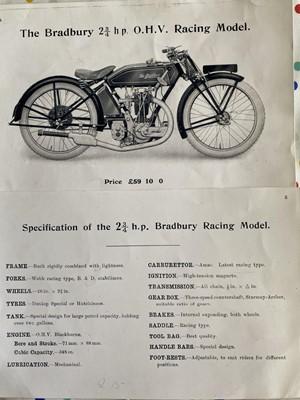 Lot 120 - 1923 Bradbury Racer