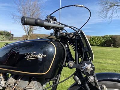 Lot 1949 Velocette MK8 KTT