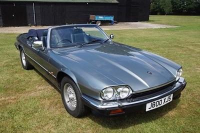 Lot 37 - 1991 Jaguar XJS V12 Convertible