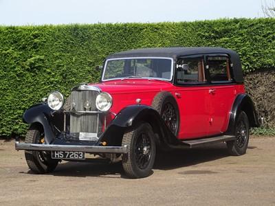Lot 1933 Sunbeam 25hp Limousine