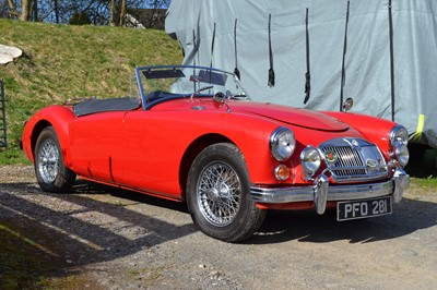 Lot 1958 MG A 1500 Roadster