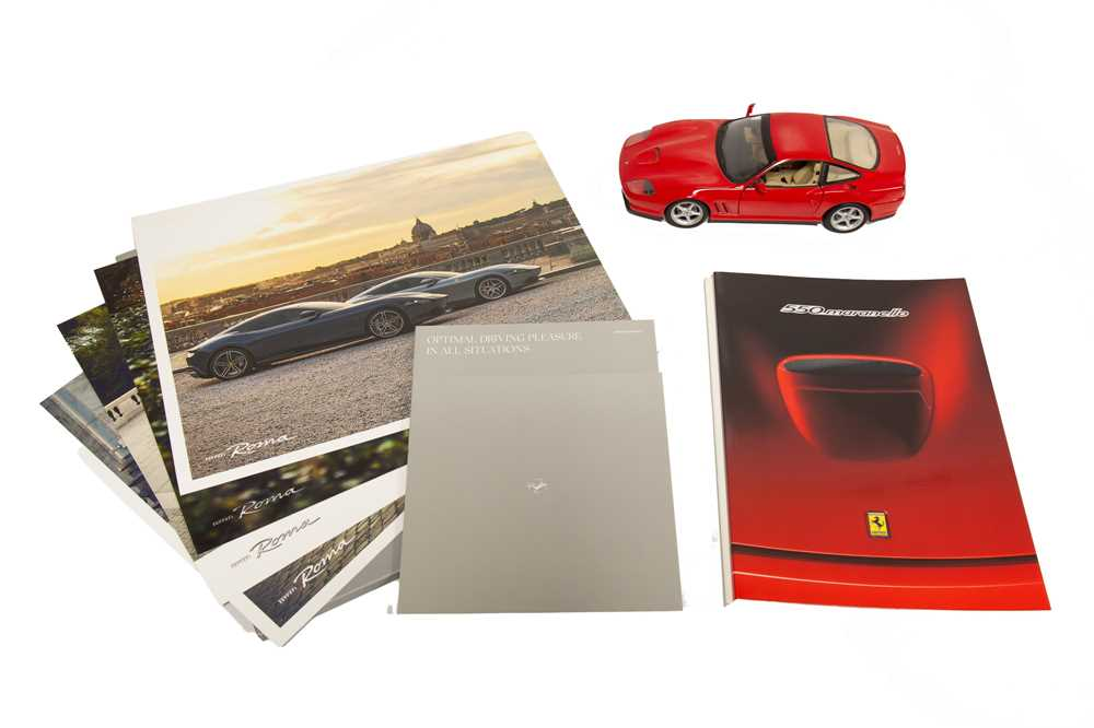 Lot 61 - Ferrari Ephemera