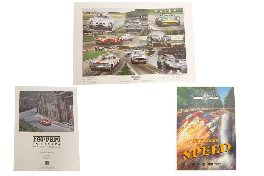 Lot 64 - Two Posters and a Limited-Edition Artwork Print