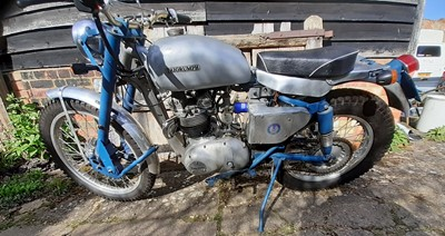 Lot 1974 Triumph Greeves Special