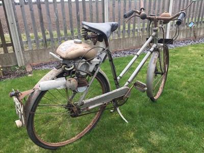 Lot 200 - c1958 Phillips/Power Pak Autocycle