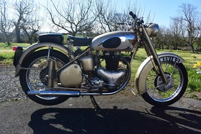 Lot 1952 BSA A10 Gold Flash