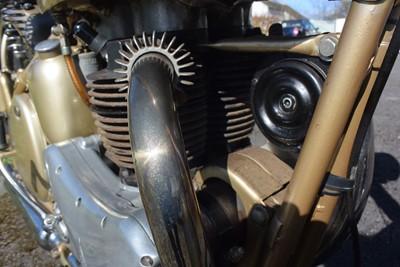 Lot 42 - 1952 BSA A10 Gold Flash