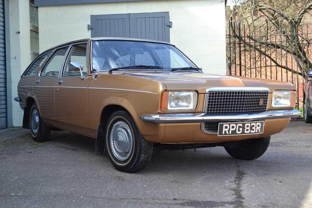 Lot 312 - 1977 Vauxhall Victor FE 1800