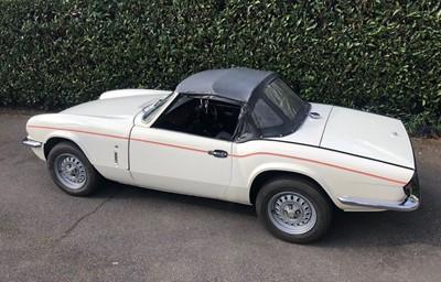Lot 303 - 1977 Triumph Spitfire
