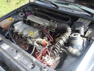 Lot 321 - c.1990 Ford Escort XR3i