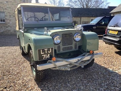 Lot 1950 Land Rover Series 1