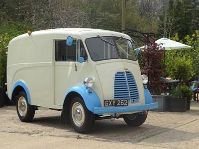 Lot 69 - 1956 Morris J-Type Van