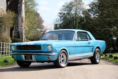 Lot 48 - 1966 Ford Mustang V8 Notchback