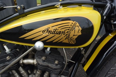 Lot 1930 Indian 101 Scout