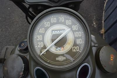 Lot 1943 Harley Davidson WLC