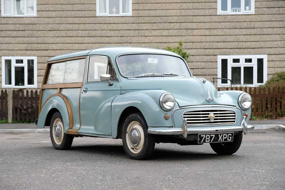 Lot 364 - 1962 Morris Minor 1000 'Traveller'