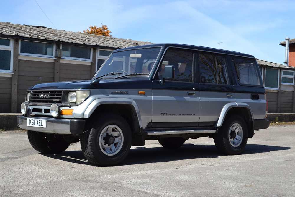 Lot 354 - 1992 Toyota Land Cruiser Prado EFI Turbo Wagon