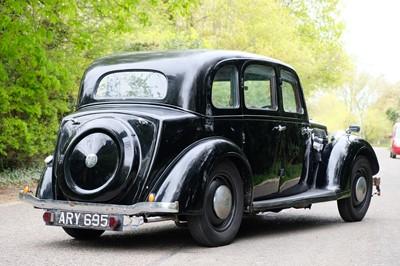 Lot 333 - 1936 Rover 12 6-Light Saloon
