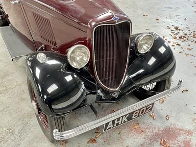 Lot 348 - 1933 Ford Model Y Four Door Saloon