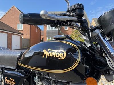 Lot 1975 Norton Commando
