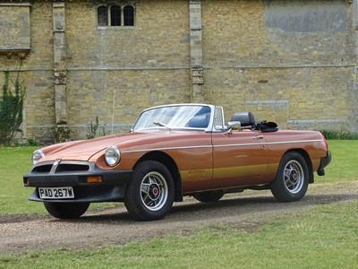 Lot 80 - 1981 MG B LE Roadster