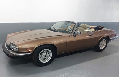 Lot 47 - 1988 Jaguar XJ-S Convertible