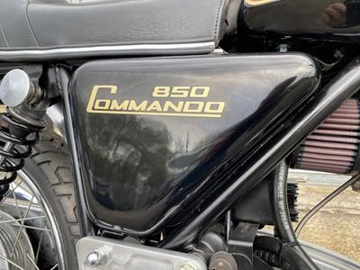 Lot 11 - 1973 Norton Commando MK2