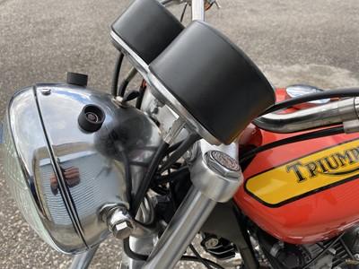 Lot 13 - 1969 Triumph Hurricane