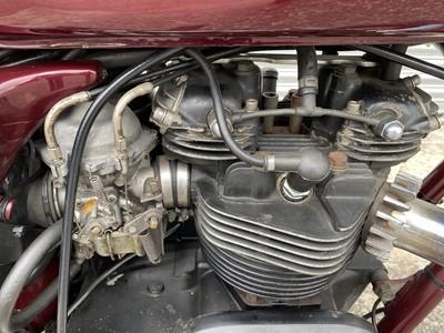 Lot 4 - 1982 Triumph TSX