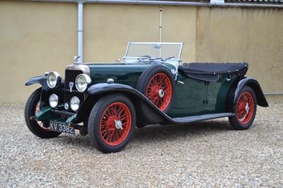 Lot 74 - 1932 Alvis Firefly Tourer