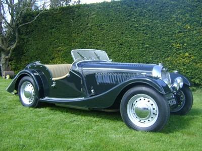 Lot 1952 Morgan Plus 4 Roadster