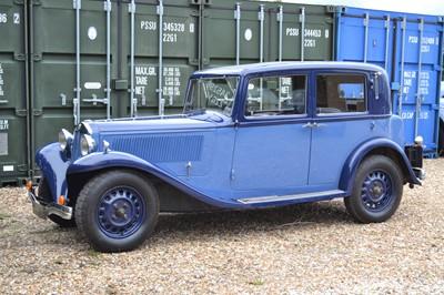 Lot 81 - 1935 Lancia Belna Saloon