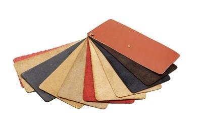 Lot 110 - Rare Ferrari Connolly Leather Dealership Leather Trim Sample Swatch