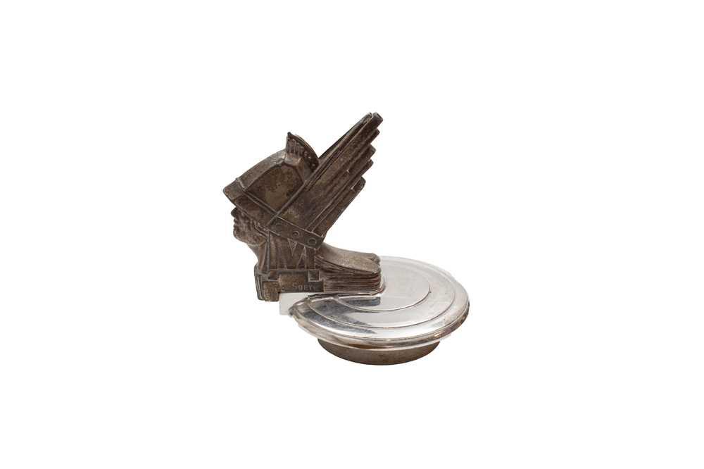 Lot 113 - Minerva Goddess Mascot, Marked P. De Soete