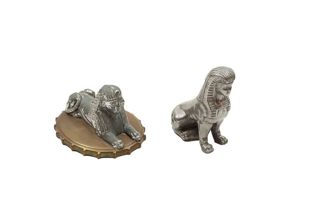 Lot 115 - Two Armstrong Siddeley Sphinx Mascots